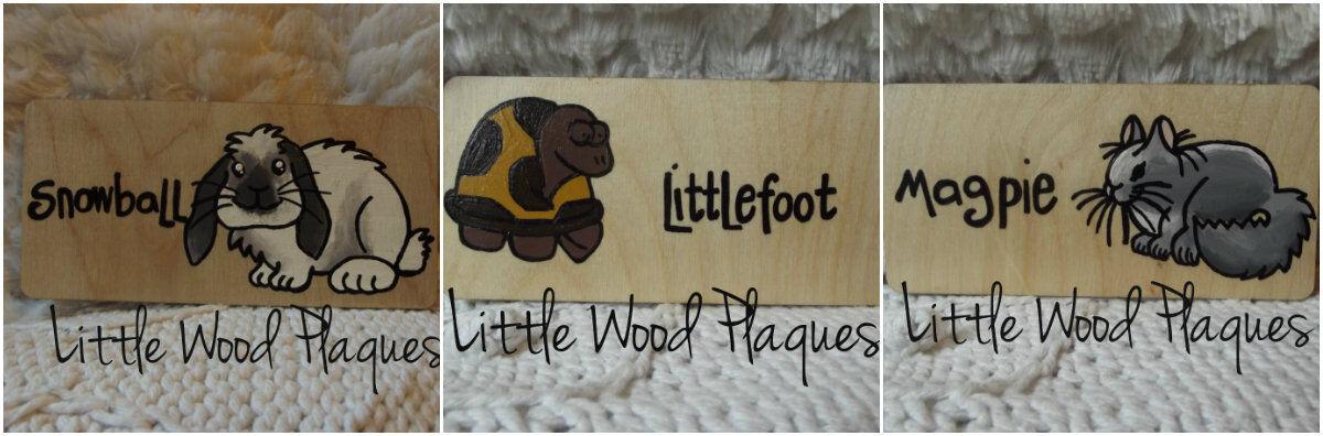 Little Wood Plaques