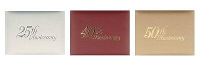 Wedding Anniversary Guest Book - 25th, 40th, or 50th
