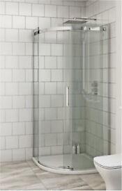 Mode Harrison 8mm easy clean 800mm quadrant shower enclosure
