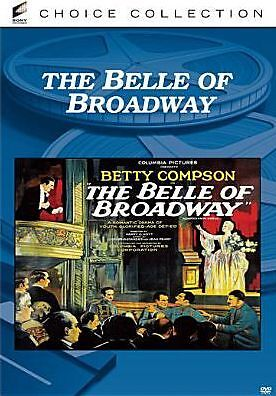 THE BELLE OF BROADWAY (Betty Compson) Region Free DVD - Sealed