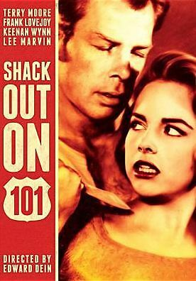 SHACK OUT ON 101 (Terry Moore) - DVD - Region 1