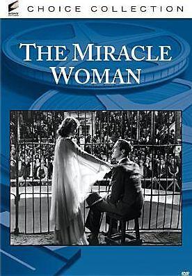 MIRACLE WOMAN (B&W) Region Free DVD - Sealed