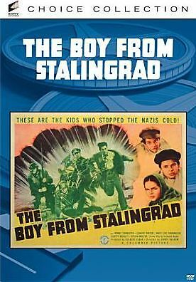 BOY FROM STALINGRAD ( B&W) Region Free DVD - Sealed