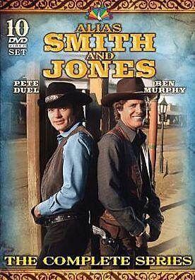 ALIAS SMITH & JONES: COMPLETE SERIES 1971-1973 (J Drury) - DVD - Sealed Region 1
