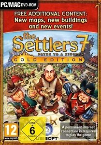 Die Siedler 7 The Settlers 7 Gold Edition Spiel PC-Spiel (Vollversion inkl. DVD)