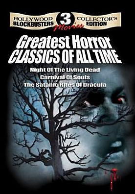 3 GREATEST HORROR CLASSICS OF ALL TIME - DVD - Region 1 - Sealed