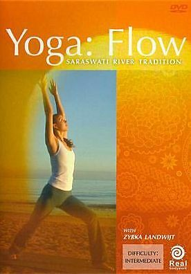 YOGA: FLOW / SARASWATI RIVER TRADITION (Zyrka Landwijt) - DVD - Region Free