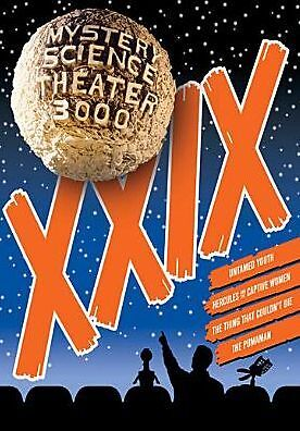 MYSTERY SCIENCE THEATER 3000: VOLUME XXIX (L Cunningham) - DVD - Region 1 Sealed