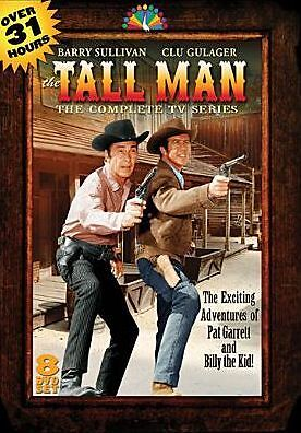 TALL MAN THE COMPLETE 1ST & 2ND SEASON (1960-1962) - DVD - Sealed Region 1