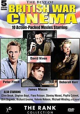 BEST OF BRITISH WAR CINEMA (Peter Finch) - DVD - Sealed Region
