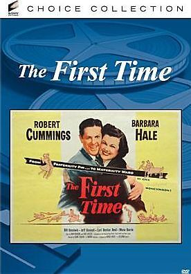 FIRST TIME (1952)  Region Free DVD - Sealed