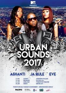 2 x tickets to Urban Sounds Metro City Perth Dee Why Manly Area Preview