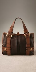 Michael Kors Large Leather Harness Satchel