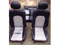 Mercedes c class leather seats