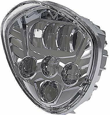 Victory Cross Country Tour Roads Magnum X-1 Beacon LED Headlight Chrome