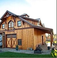 Looking for someone to build a barn/ shop with living loft