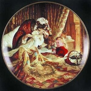 """Collector Plate: """"Little Red Riding Hood"""" Peterborough Peterborough Area image 1"""