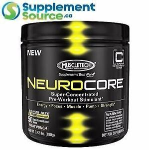MuscleTech NEUROCORE, 50 Servings - Fruit Punch