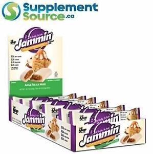 B-JAMMIN PROTEIN BAR, 10 Bars/Box - Peanut Butter & Jelly