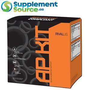 Rivalus AP KIT (24hr Hormone Support), 30 Day Anabolic Kit