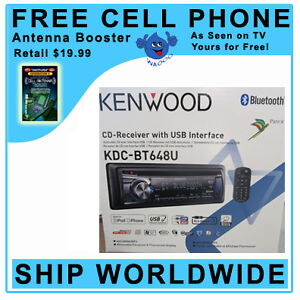 Kenwood KDC-BT648U In-Dash CD/MP3/WMA/AAC  Receiver with USB input