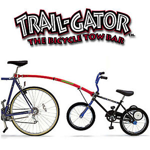 Bicycle trailer Gator bars  -  Barre de remorquage Gator