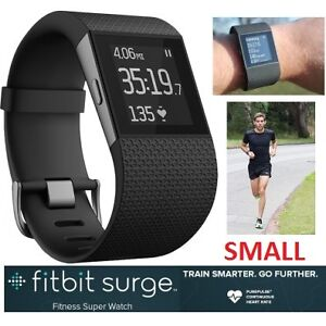 NEW FITBIT SURGE SMARTWATCH GPS & HEART RATE MONITOR - SMALL