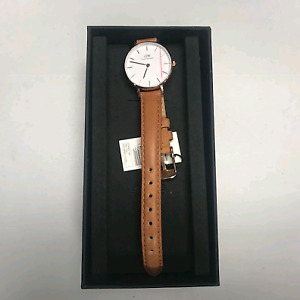 DANIEL WELLINGTON CLASSIC PETITE DURHAM 28MM WATCH  VALUE:$205