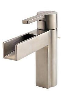 Bathroom Faucet Brushed Nickel brushed nickel bathroom faucet | ebay