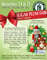 Vendors Wanted for 32nd Sugar Plum Fair Craft Show
