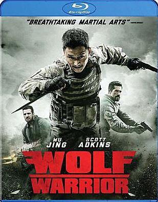 WOLF WARRIOR (Scott Adkins) - BLU RAY - Region Free - Sealed