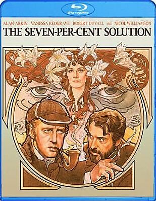 Seven-Per-Cent Solution (Combo) (Alan Arkin) Region A BLURAY - Sealed