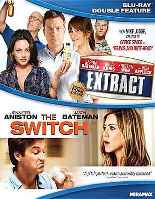 SWITCH / EXTRACT (Jason Bateman) - BLU RAY - Region A - Sealed