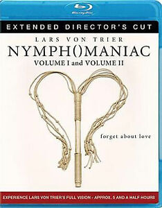 Nymphomaniac Volume 1 & 2 Extended Director's Cut Blu-ray