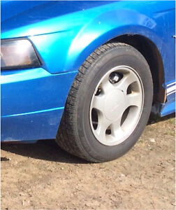 stock rims off 2000 ford mustang
