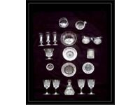ASSORTED GLASSWARE - 19 ITEMS - FOR SALE