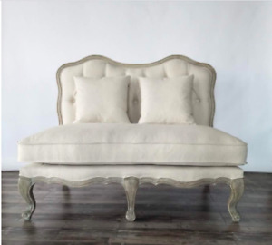 NEW Settee Sofa French Provincial