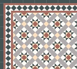 Victorian and Federation tiles Gladesville Ryde Area Preview