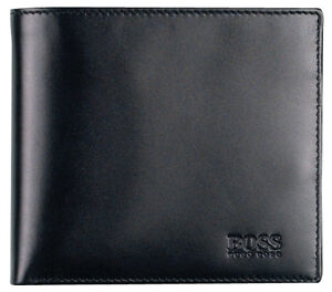 NEW-DESIGNER-HUGO-BOSS-Asolo-MENS-BIFOLD-LEATHER-WALLET