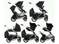 Phil & teds promenade double buggy/pushchair