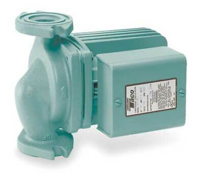 Taco 0011-f4 Hydronic Circulating Pump 18 Hp 115v 1 Phase Flange Connection