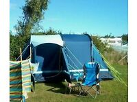 5 year old kampa tent. Good condition. Ideal for couples or small family. 4 berth.