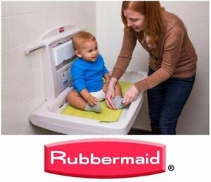 NEW BABY CHANGING STATION   Rubbermaid Commercial Horizontal Baby Changing Station INFANT NURSERY 95975956