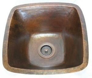 Copper Bar Sinks