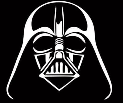 DARTH VADER STICKER STAR WARS SITH Decal Vinyl Car Window Sticker ANY SIZE - Star Wars Window Decal