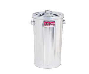 Outdoor Metal Garbage Can