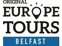 Original Europe Tours Belfast is hiring for city management.