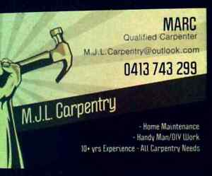 Handyman/Carpenter avail weeknights 4pm+ weekends Macleod Banyule Area Preview