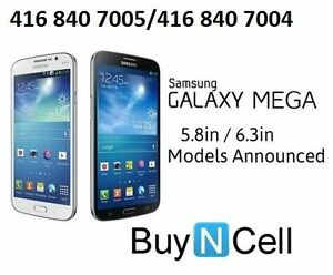 LIKE NEW SAMSUNG GALAXY MEGA UNLOCKED + 3 MONTHS WARRANTY