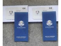 Ryder Cup 2018 Thursday tickets. Final Practice Day, Opening Ceremony, Concert